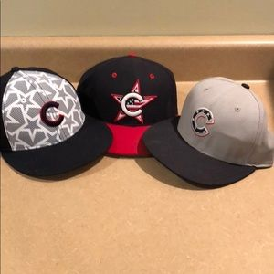 Chicago Cubs Fitted Star spangled baseball hats